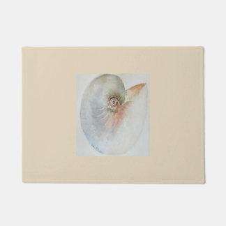 Doormat de Shell del mar