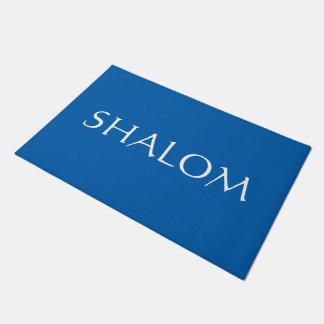 Doormat del personalizado de Shalom