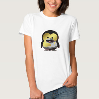 d'Or de Tux del bebé de Linux Camisas