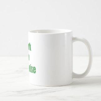 Dork en disfraz taza de café