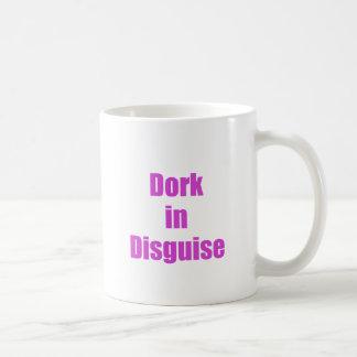 Dork en disfraz tazas de café
