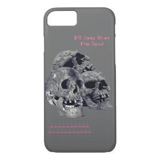 Dormiré cuando soy cáscara muerta del iPhone 7 Funda iPhone 7