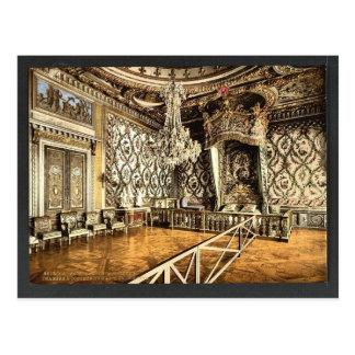 Dormitorio de Marie Antonieta, palacio de Postal