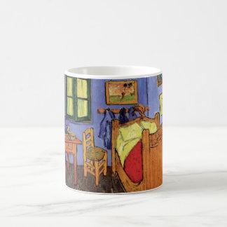 Dormitorio de Van Gogh Vincent en Arles, bella Taza De Café