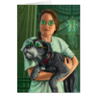 Dorothy en la ciudad esmeralda tarjeta pequeña
