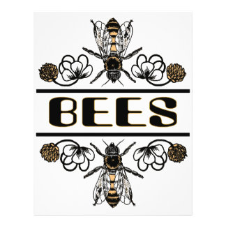 dos abejas con el trébol trans1 tarjeton