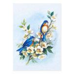 Dos Bluebirds Plantillas De Tarjetas De Visita