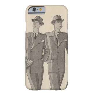 Dos caballeros hermosos que dan un paseo de lado a funda de iPhone 6 barely there