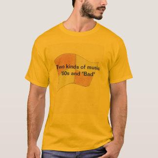 """Dos clases de los años 60 y de """"malo """" de la camiseta"""
