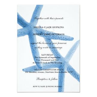 Dos de nosotros boda de las estrellas de mar del invitacion personal
