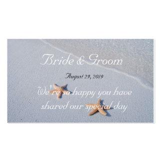 Dos de nosotros etiquetas del favor 100 del boda tarjetas de visita
