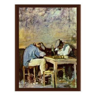 Dos Drunks de Grigorescu Nicolae (la mejor calidad Tarjetas Postales