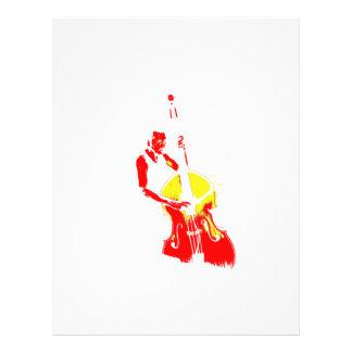 Dos entonaron amarillo rojo del esquema vertical d tarjetones