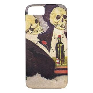Dos esqueletos del vintage funda iPhone 7