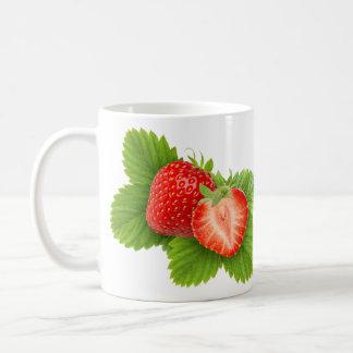Dos fresas taza