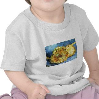 Dos girasoles cortados - Vincent van Gogh Camisetas