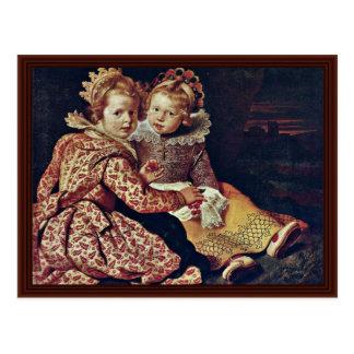 Dos hijas del pintor de Vos Cornelio De Postal