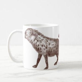 Dos manchados o Hyenas rayados Taza De Café