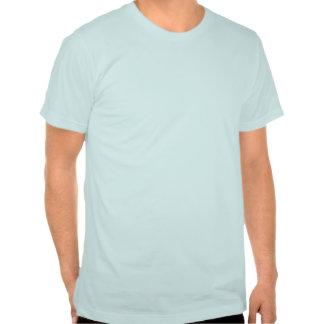Dos palmeras con el cielo azul camisetas