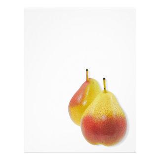 Dos peras maduras folleto 21,6 x 28 cm