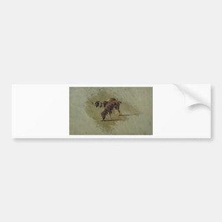 Dos perros de Theo van Doesburg Pegatina Para Coche
