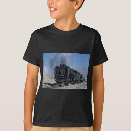 Dos QJ en la carga a Hexipu, China del noroeste Camiseta