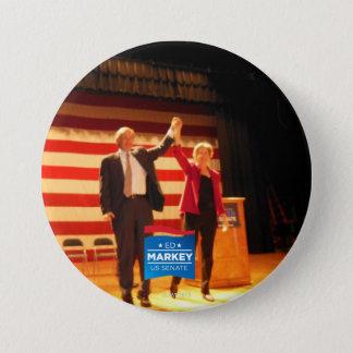 Dos senadores, un estado chapa redonda de 7 cm