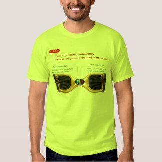 dos t de equilibrio de la vespa del uno mismo de camiseta