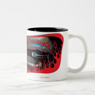Dos taza de Chevy del tono 54