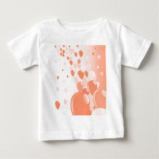 Dos tono Baloons Camiseta De Bebé