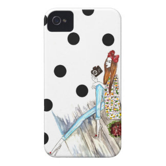 Dots and camera iPhone 4 Case-Mate protector