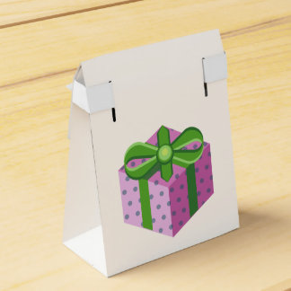 Dotted presente card caja