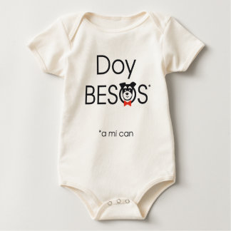 Doy Besos (a mi can) Body Para Bebé