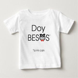 Doy Besos (a mi can) Camiseta De Bebé