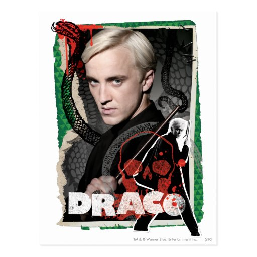 Draco Malfoy 6 Postal
