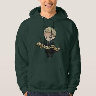 Draco Malfoy del animado Sudadera
