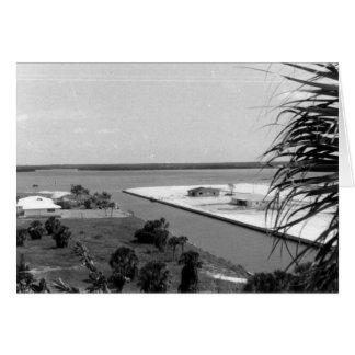 Dragado de la isla, Marco Island, la Florida, 1972 Tarjeta De Felicitación