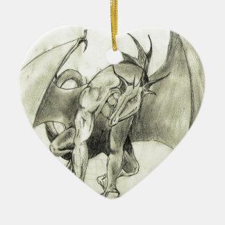 Dragaon - bosquejo del lápiz adorno para reyes