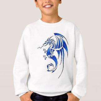 Dragissous V1 - dragón azul Sudadera
