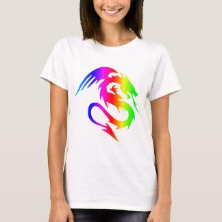 Dragón 4 del arco iris camiseta