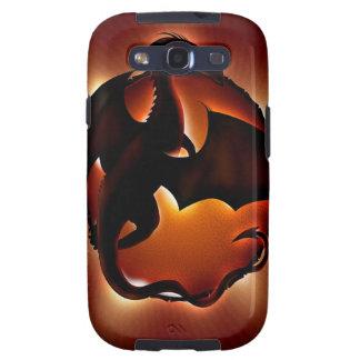 dragón animal abstracto storm.jpg galaxy s3 carcasa