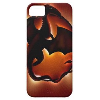 dragón animal abstracto storm.jpg iPhone 5 Case-Mate cobertura