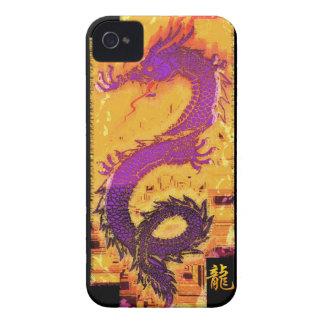 Dragón asiático, chino, mítico, año del dragón iPhone 4 Case-Mate cárcasas