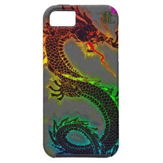 Dragón asiático, chino, mítico, año del dragón iPhone 5 Case-Mate fundas