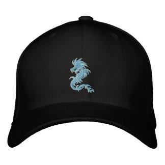 dragón azul tribal gorra de beisbol bordada