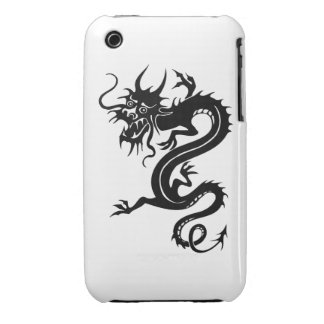 Dragón chino (3) iPhone 3 Case-Mate protectores