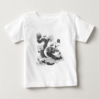 Dragón chino camiseta de bebé
