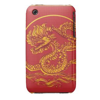 Dragón chino del Año Nuevo iPhone 3 Case-Mate Protector