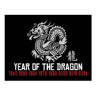 Dragón chino del Año Nuevo Postales