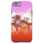Dragón chino funda de iPhone 6 tough
